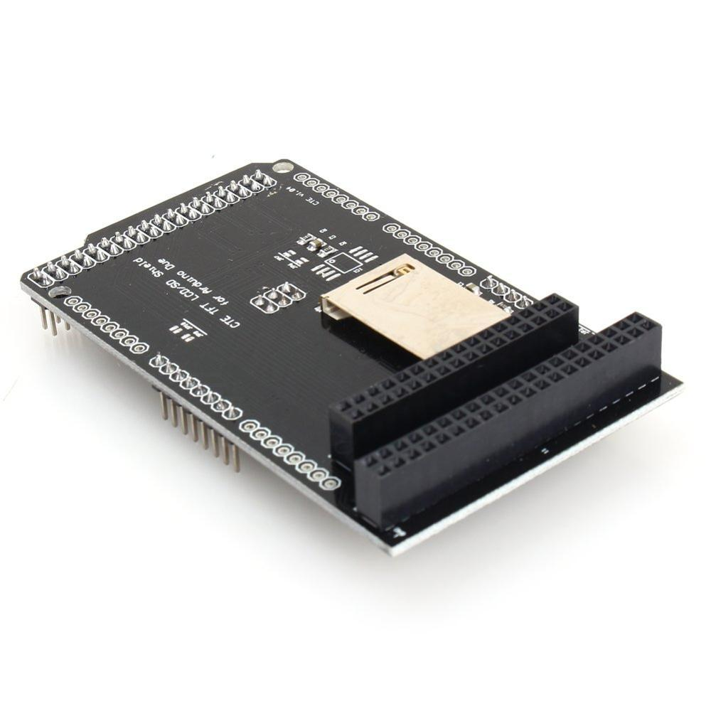 New <font><b>3.2</b></font> Inch <font><b>TFT</b></font>/SD Shield Expansion Board Module for <font><b>Arduino</b></font> Due LCD Module SD Card Adapter 2.8 image