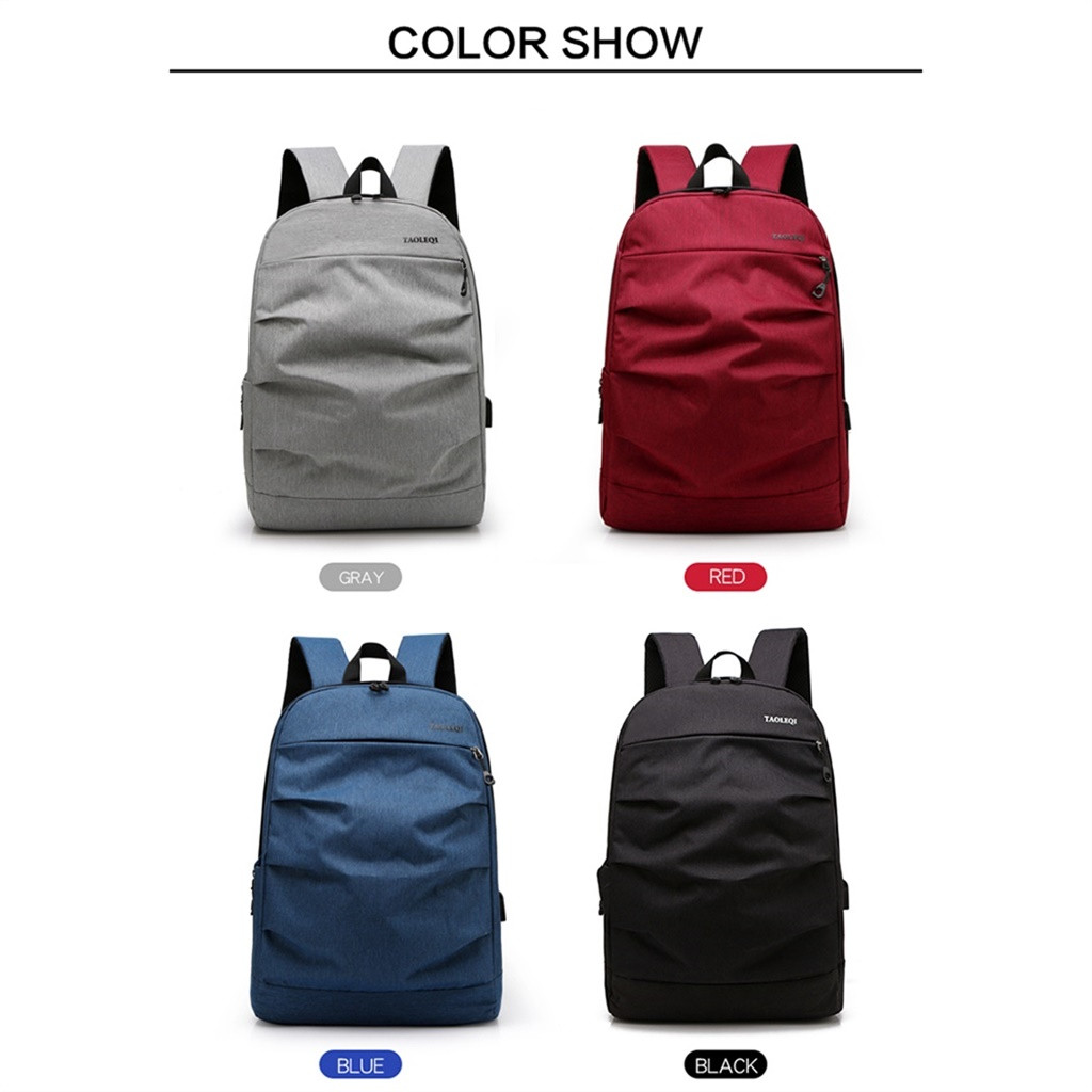 Dropshipping Casual Tops Plus Size  Fashion Business Laptop Bag Casual Backpack Student Bag Outdoor Travel Backpack Women