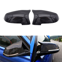 1 Pair Car Mirror Covers Side Rearview Auto Mirror Cover Cap For BMW 5 6 7 Series F10 F18 F11 F06 F07 F12 F13 F01 2014 2015 2016