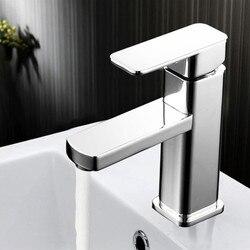 Submarine toilet washbasin basin basin faucet hot and cold water single-hole basin basin sink faucet