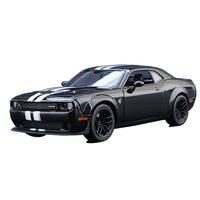 1:24 Dodge Challenger SRT Muscle Sports Car 2018 Doge Simulation Alloy Car Model Collection Toy