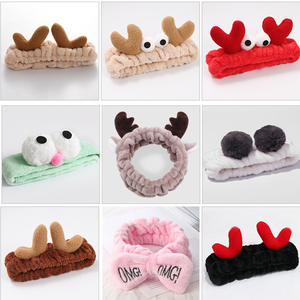 Girls Headbands Hair-Accessories Letter OMG Makeup Cute Women Wash-Face
