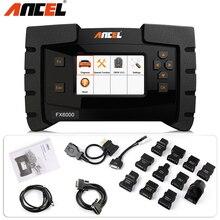 ANCEL FX6000 OBD2 narzędzie diagnostyczne do samochodów ABS DPF reszta oleju klucz Tester baterii TPMS Air ACC wszystkie systemy aktualizacja skanera OBD2 za darmo