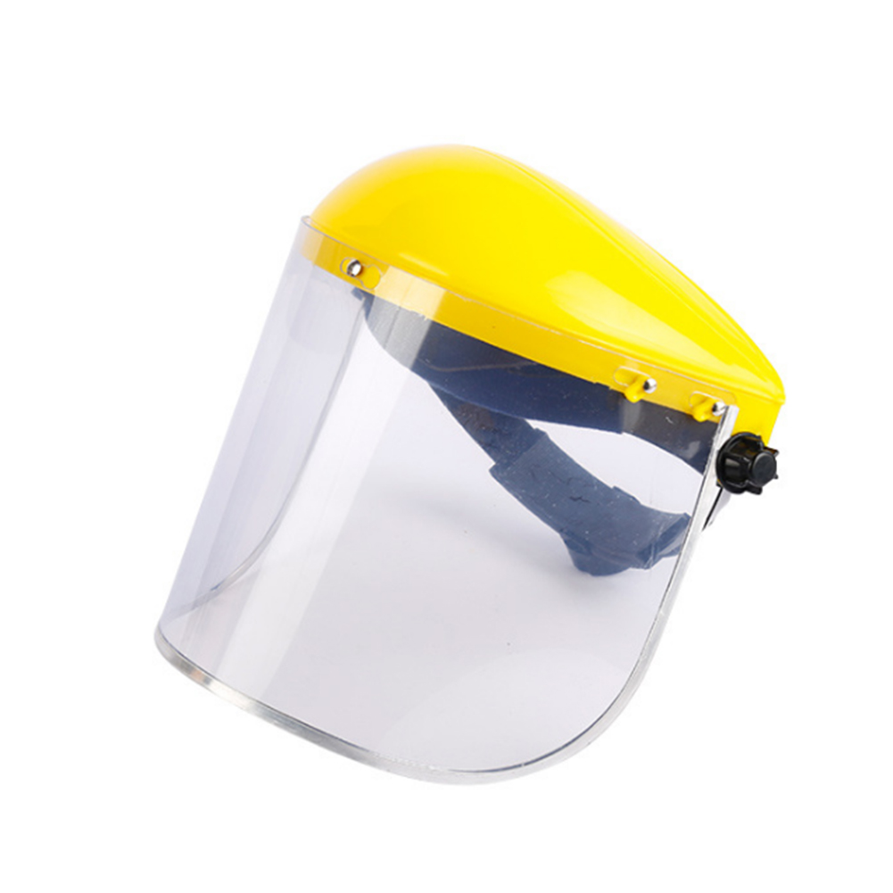 Visors Adjustable Angel Guard Face Shield Protective Gear Electric Welding Safety Grinding Clear PVC Impact Resistant Durable