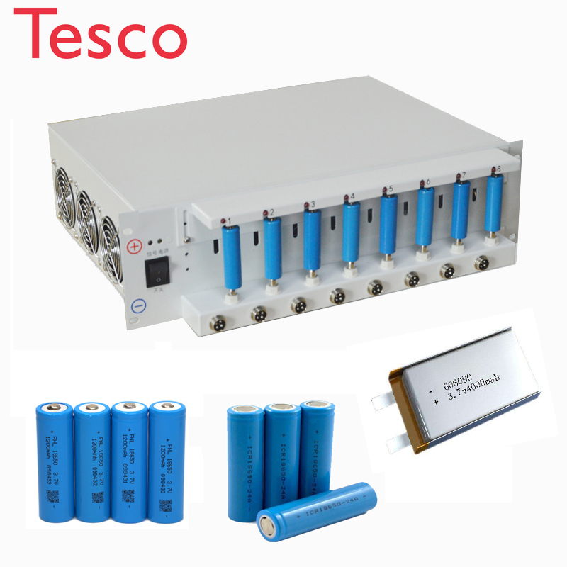 Lithium 18650 LiIon Cell Analyzer Discharger & Battery+Testers Internal Resistance Lab Equipment Battery Capacity Tester