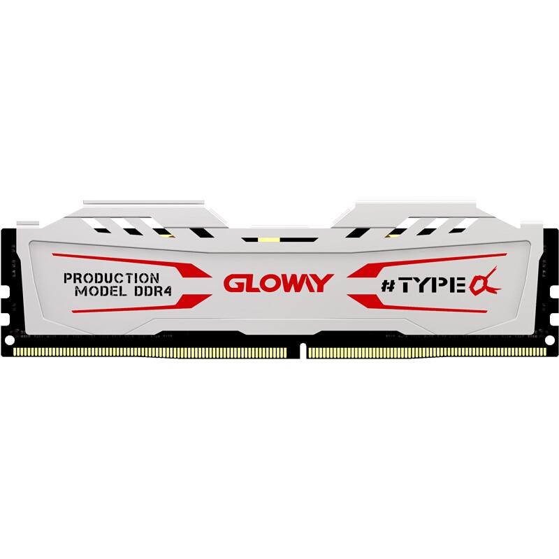 Gloway TYPE a series white heatsink ram ddr4 8gb 16gb 32gb 2666mhz for desktop with high performance|RAMs| - AliExpress