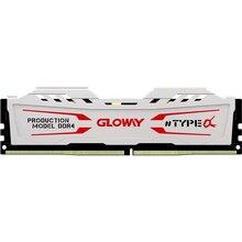 Neue ankunft Gloway TYP a serie weiß kühlkörper ram ddr4 8gb 16gb 2400mhz 2666mhz für desktop mit hoher leistung