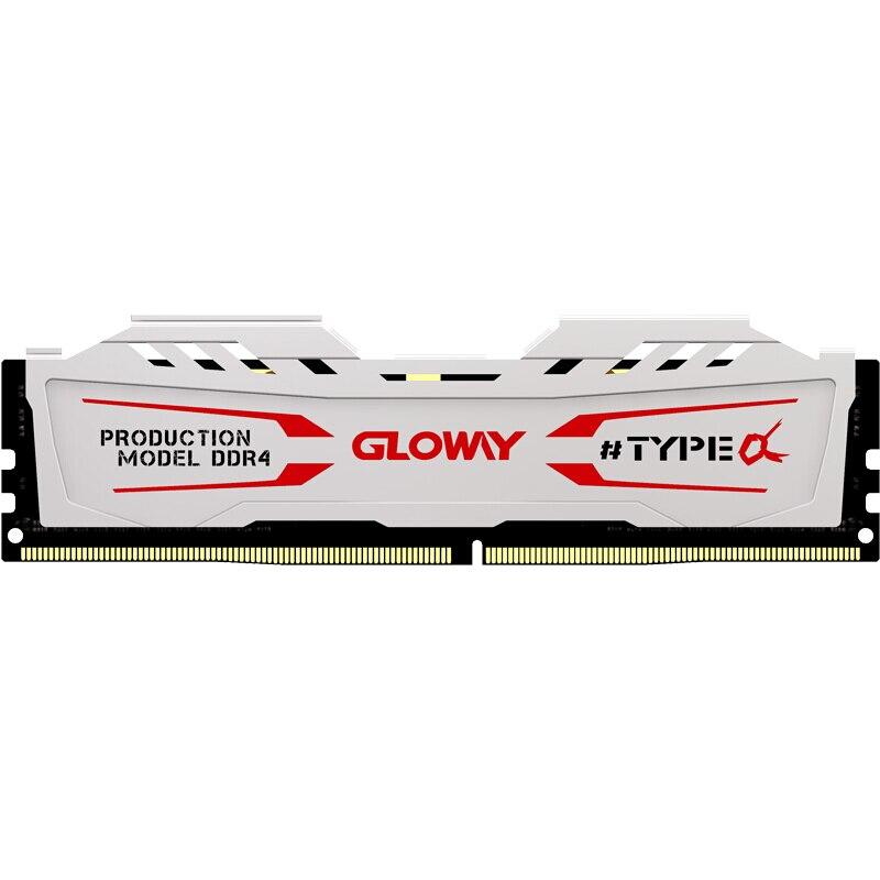 Nuovo arrivo TIPO di Gloway una serie bianco dissipatore di calore ram ddr4 8gb 16gb 2400mhz 2666mhz per il tavolo con ad alte prestazioni