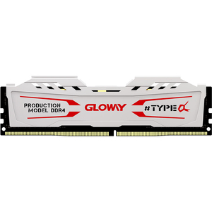 Image 1 - new arrival Gloway TYPE a series  white  heatsink ram ddr4 8gb  16gb 2400mhz 2666mhz for desktop with high performance