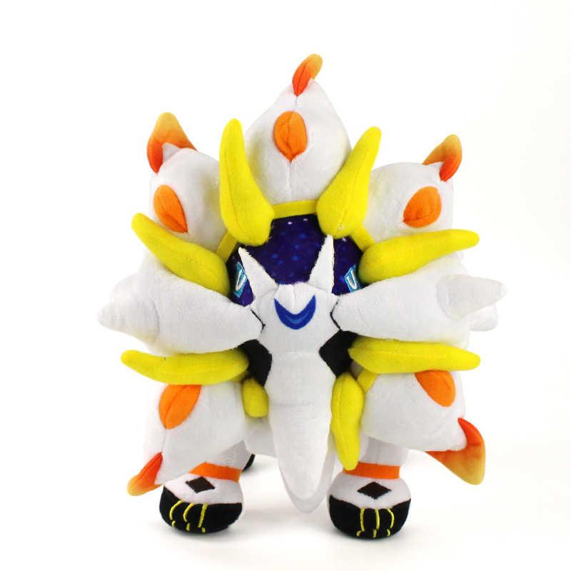 "3 Styles Alola Solgaleo Lunala Necrozma 10-20/"" Cute Sun/&Moon Plush Soft Doll Toy"