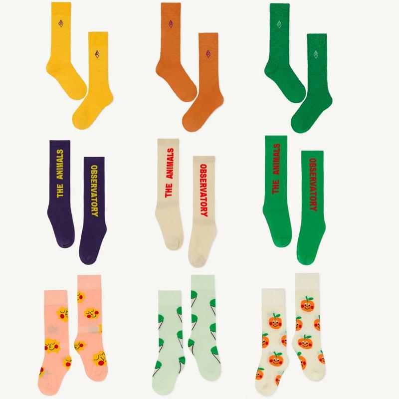 2020 New Spring Summer TAO Brand Girls Socks Baby Children Kids New Fashion Print Cotton Socks