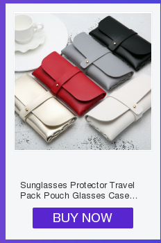 Unique PU Leather Glasses Bag Ins Popular Cute Cartoon Cover Multi-function Eyeglasses Case Travel Women Sunglasses Case Holder
