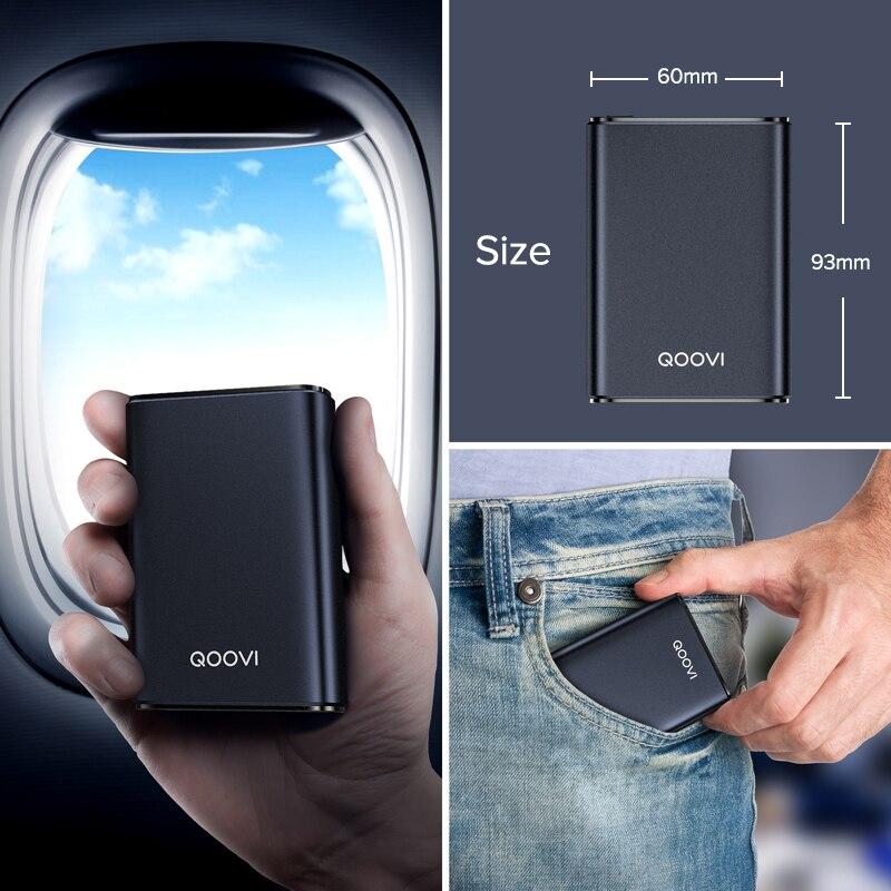 Mini Power Bank 10000Mah Usb C Draagbare Oplader Powerbank Snel Opladen Externe Batterij Voor Iphone Samsung Xiaomi Mi 10 9 6