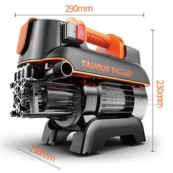 High Pressure Washer Multifunction Commercial Home Car Wash Pump Garden cleaning Tools High Power 1300W Car washing Equipment car washer 220v household high pressure cleaner self suction cleaner water jet brush pump self washing pump