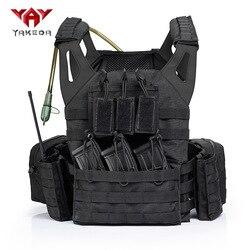 Yakeda JPC Lightweight Module Combat Waistcoat MOLLE System Tactical Vest Outdoor CS Field Operations Vest