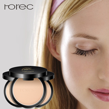 ROREC Mineral Pressed Face Powder Concealer Base Makeup Performance Wear Foundation Compact Illuminator