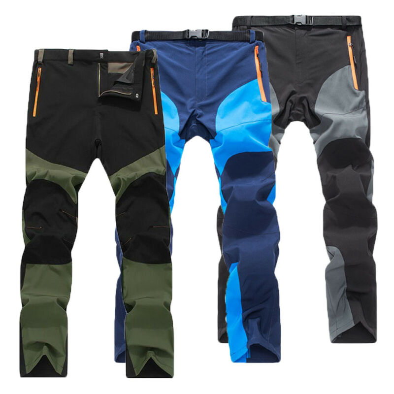 2020 Fashion Men Trousers Bright Cool Quick-Drying Gym Pants Tactical Personality Cargo Hiking Skiing Climbing Combat Work Pants