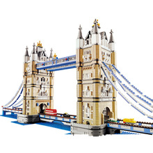 New City Architecture Series  Toys Tower Bridge Compatible Legoingly City 10214 Building Blocks Toys  Birthday Gift for kids