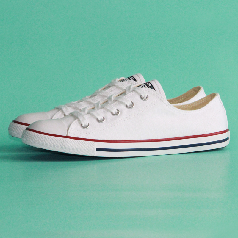 outlet on sale cute first rate US $57.44 20% OFF 2020 New Original Converse All Star women sneakers The  design of thin Skateboarding Shoes 537204C-in Skateboarding from Sports &  ...