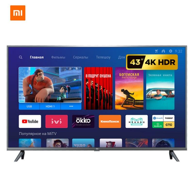 "Xiaomi Mi TV 4S 43 4K UHD HDR smart Android TV 43 "" LED Television DVB-T2"