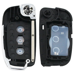 Image 5 - Modified 3 Button New Folding Flip Remote Key Shell Case Smart Car Key Housing Fob for Ford Focus Fiesta C Max Galaxy Kuga S Max