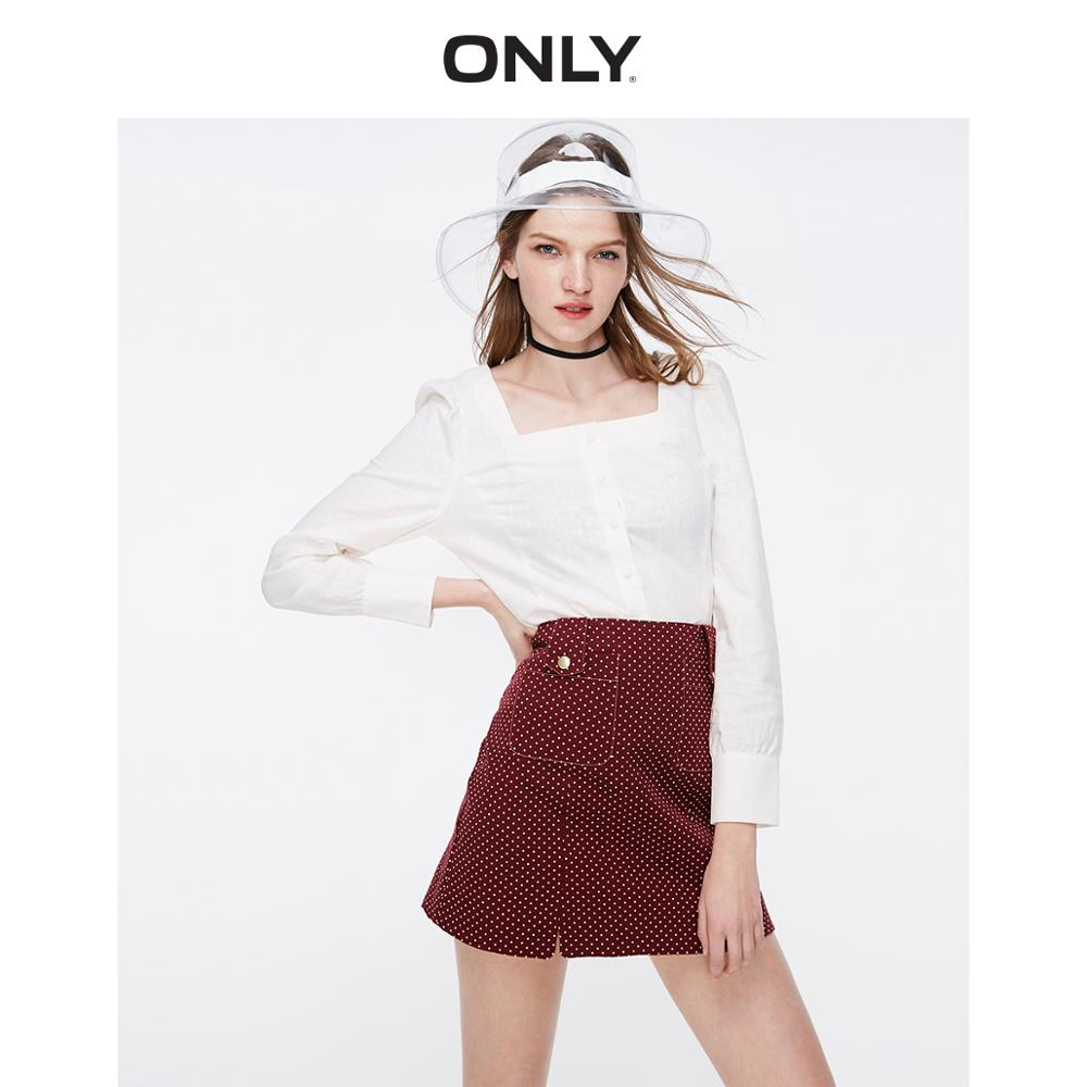 ONLY Women's Silhouette Linen Shirt | 119105509