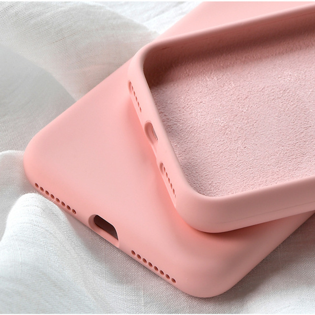 Silicone Cover Case iPhone Xs 4
