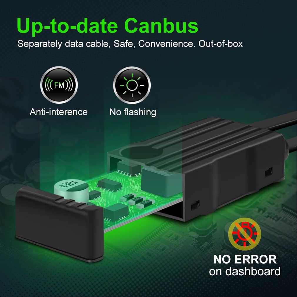 4 צדדים 18000LM H7 Led Canbus H1 H3 H4 H8 H11 9005 HB3 9006 HB4 טורבו Led פנס נורות 6000K 12V 24V אוטומטי רכב אורות ערפל מנורה