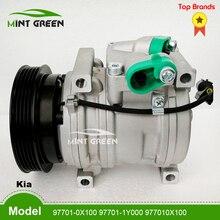 For Car Kia picanto Compressor For HYUNDAI i10 HS11 AC Compressor 977010x100 97701 0x100 97701 1Y000 977011Y000 F500QQ7AA02 5PK