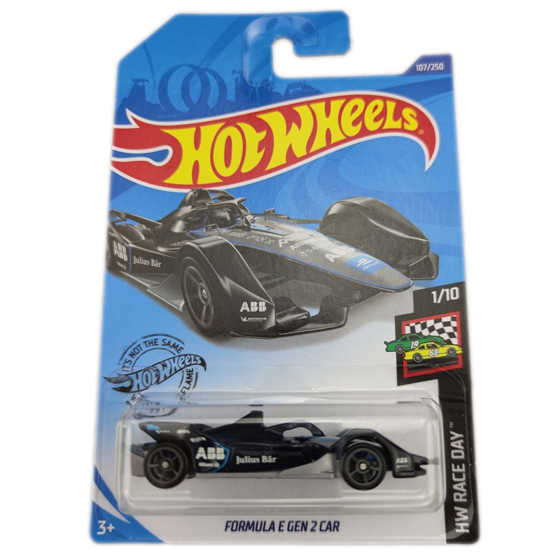 2020-107Hot Wheels 1:64 Car FORMULA E GEN 2 CAR Collector Edition Metal Diecast Model Cars Kids Toys Gift
