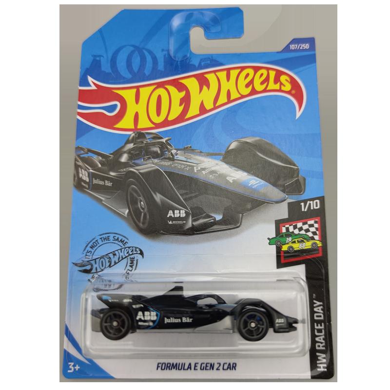 2020-107Hot Wheels 1:64 Car FORMULA E GEN 2 CAR Collector Edition Metal Diecast Model Cars Kids Toys Gift