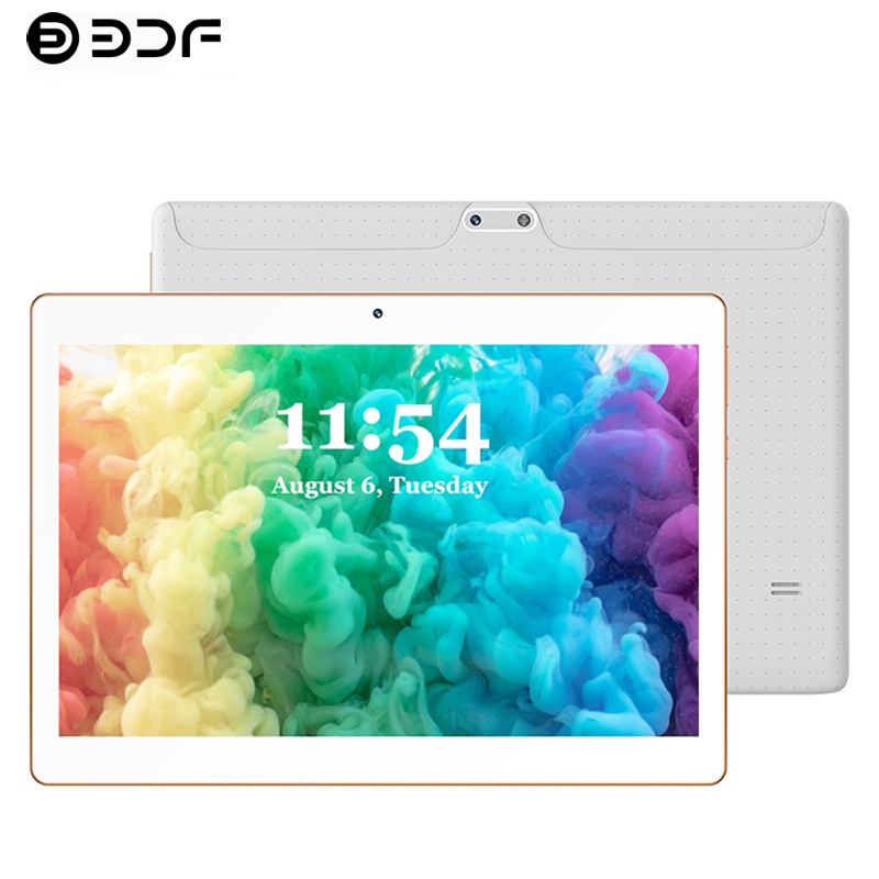 10.1 Inch PC Tablets Android 9.0 Ten Core 3G/4G Phone Call 8GB RAM 128GB Dual SIM GPS Bluetooth Wi-Fi Tablet PC+Cover