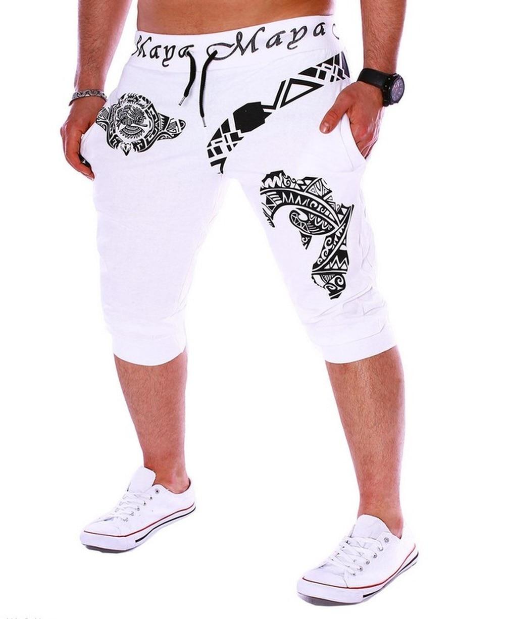 Ropa de Hombre Carta de Impressão dos Homens Moletom Zogaa Shorts Moda Casual Streetwear 3-cor Sweatpants Corredores Calções 2020
