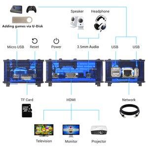 Image 4 - 128GB RETRORANGEPI 게임 스테이션 아케이드 코디 데스크탑 미니 PC HDMI w/ 17000 + 게임 레트로 파이 시스템 코디 아케이드 풀 키트