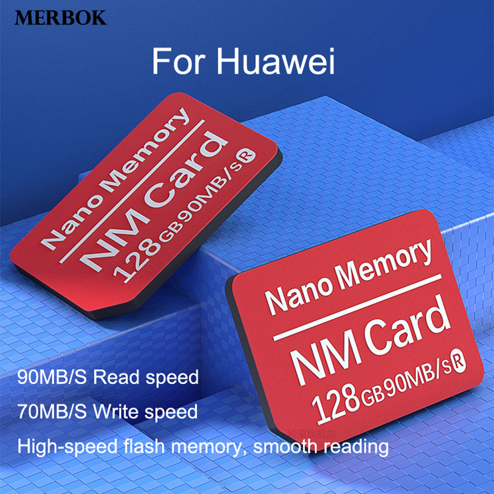 For Huawei Mate 20 Pro NM Card Nano Memory Card 128GB 90MB/S Mobile Phone Computer Dual-use USB3.0 High Speed TF NM-Card Reader