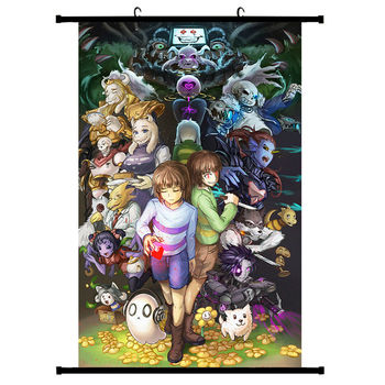 20X30/30X45cm Game Undertale Sans Anime Manga Wall Poster Scroll Home Decoration Art Movie