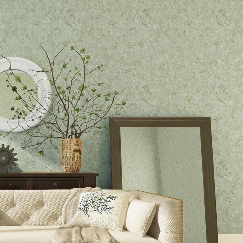 American Vintage Nostalgic Versatile Solid Color Plain Color Non-woven Wallpaper Modern Minimalist Living Room Bedroom Wall Wall