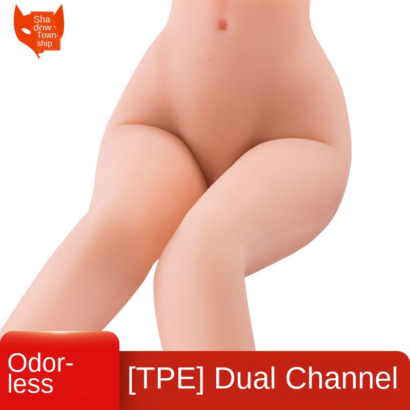 Silicone Sex Dolls 60cm Legs Lower Body Feet Sex Doll Legs Realistic Vagina Anal Lifelike Japanese Silicone Toys