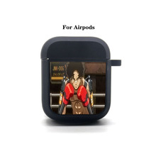 Anime game MEGALOBOX Cartoon Airpods Case Protective Cover Bluetooth Airpods Headphone case Earphone Soft Silicone Case