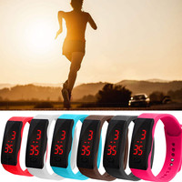 Sport Digital Watch Unisex Relogio Fashion Reloj LED Silica Gel Wristband Electronic Watches Clock Heren  40 *