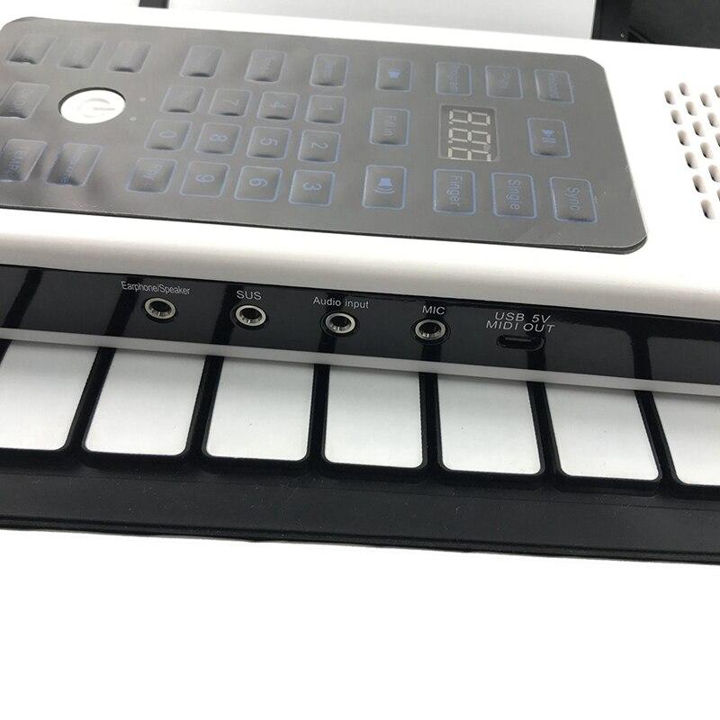 engrossado teclado iniciante rolo de mão teclado