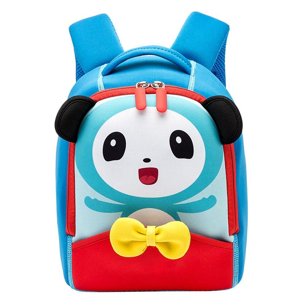 Cute 3D Animal Panda Baby School Bags For Boys Cute Toddler Children School Backpacks For Girls Creative Kids Bag Book Bag