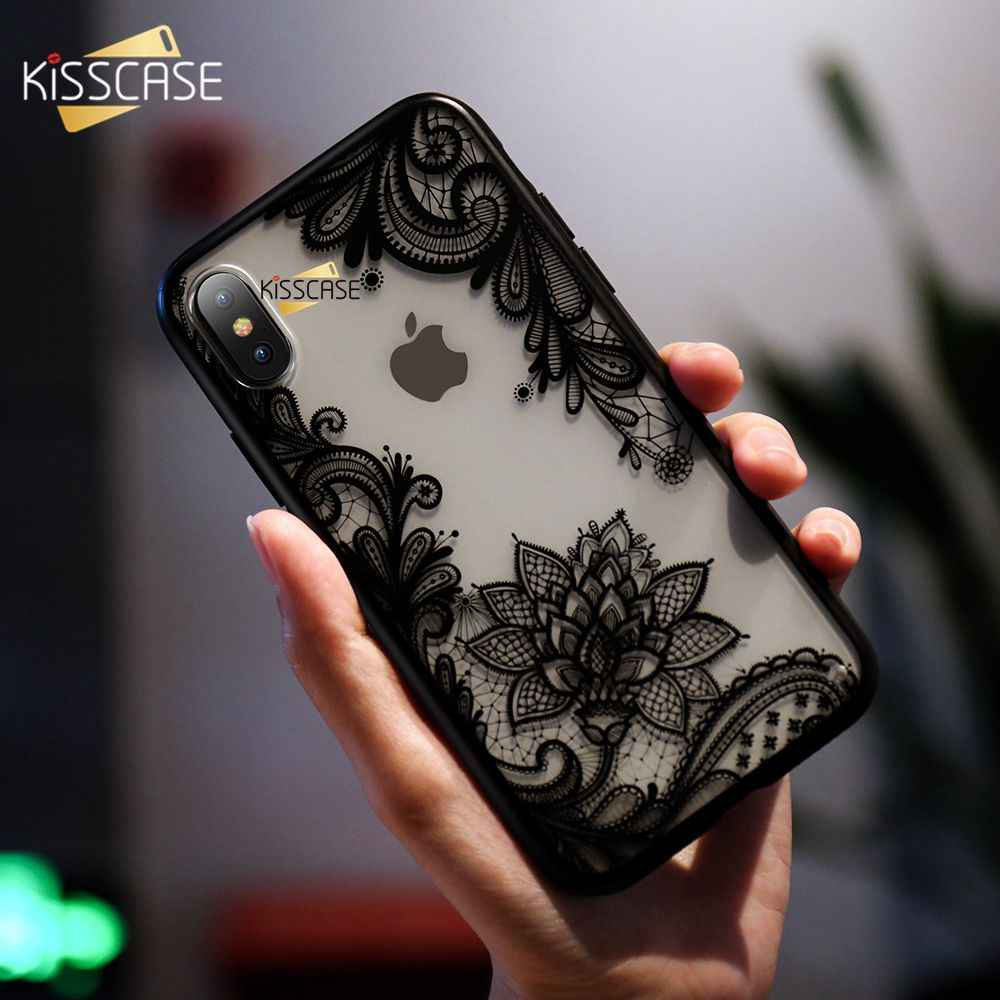 Kisscase Dành Cho iPhone 11 7 8 Plus 8 6 S Plus Ren Hoa Dành Cho iPhone 11 Pro Max 7 8 6 6 Plus 6 S 6 5 5s Capinhas Fundas CapA