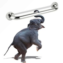 Ручка из нержавеющей стали для ванной и душа, безопасный держатель для унитаза, для инвалидов