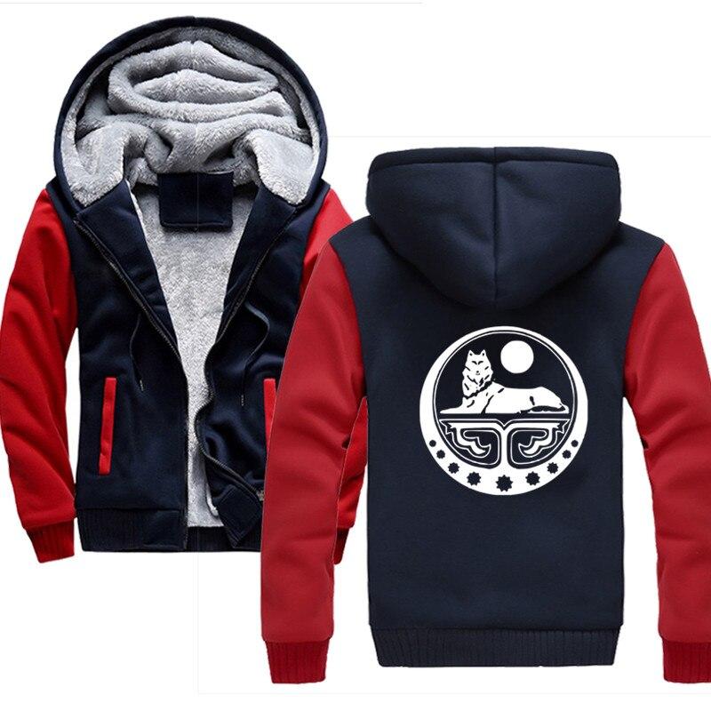 2019 Men Sportswear Fashion Print Chechnya Mens Hoodie Tracksuit Sweat Coat Casual Sportswear Hoodies