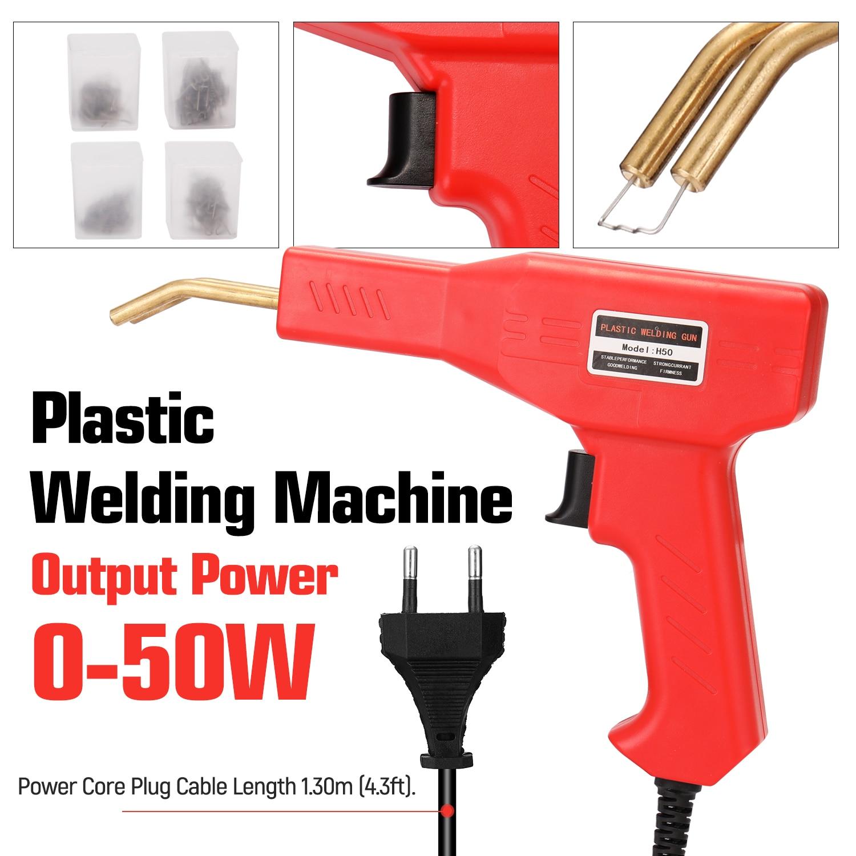 Welding Tool Plastics PVC Machine Staplers Machine Bumper Repairing Hot Car Tools Staple Welders Stapler Garage Handy Repairing