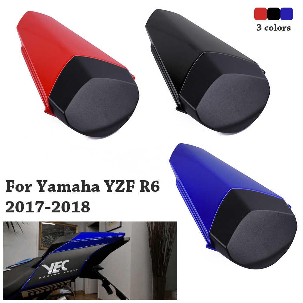 オートバイ後部座席カバーフェアリングヤマハ YZFR6 YZF-R6 YZF R6 YZF600 2017 2018 モータカバーソロ旅客ピリオン