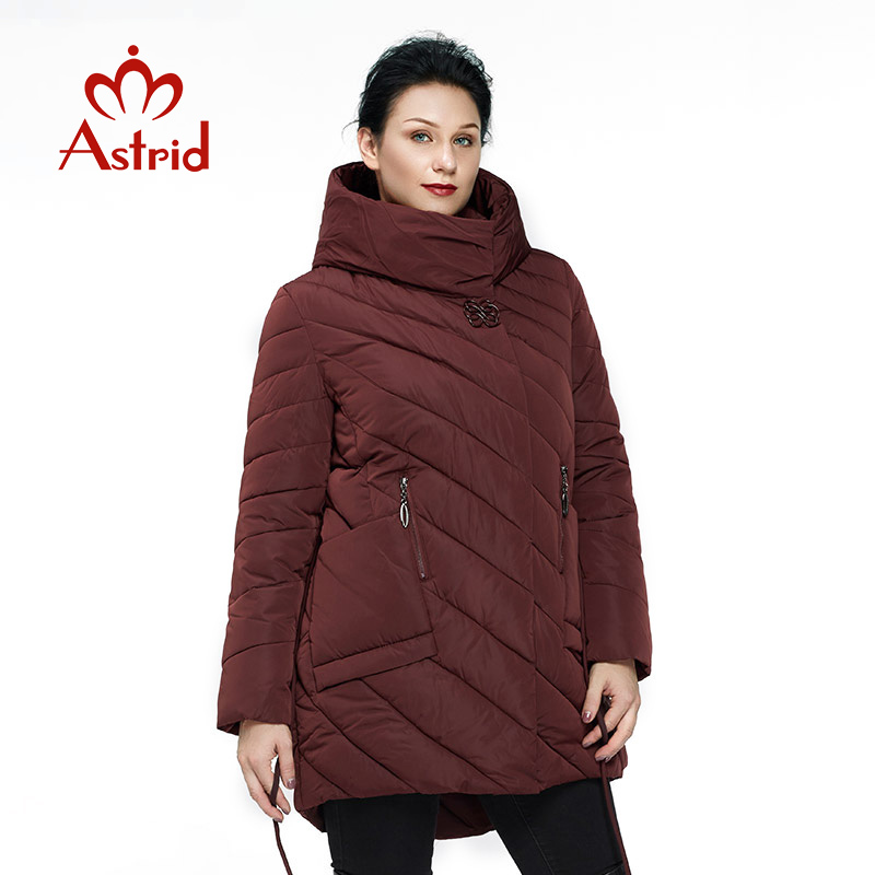 New Women's Winter Coat Plus Size Female  Coat Cotton Long Parka Women Jacket Slim Quality Office Lady Ukraine Frisky FR-8006