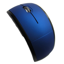 Foldable  2.4G Optical Wireless Mouse Portable Folding Office Cordless Mice for PC Computer Laptop