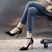 2020 Новый Лидер продаж женской обуви туфли лодочки с острым